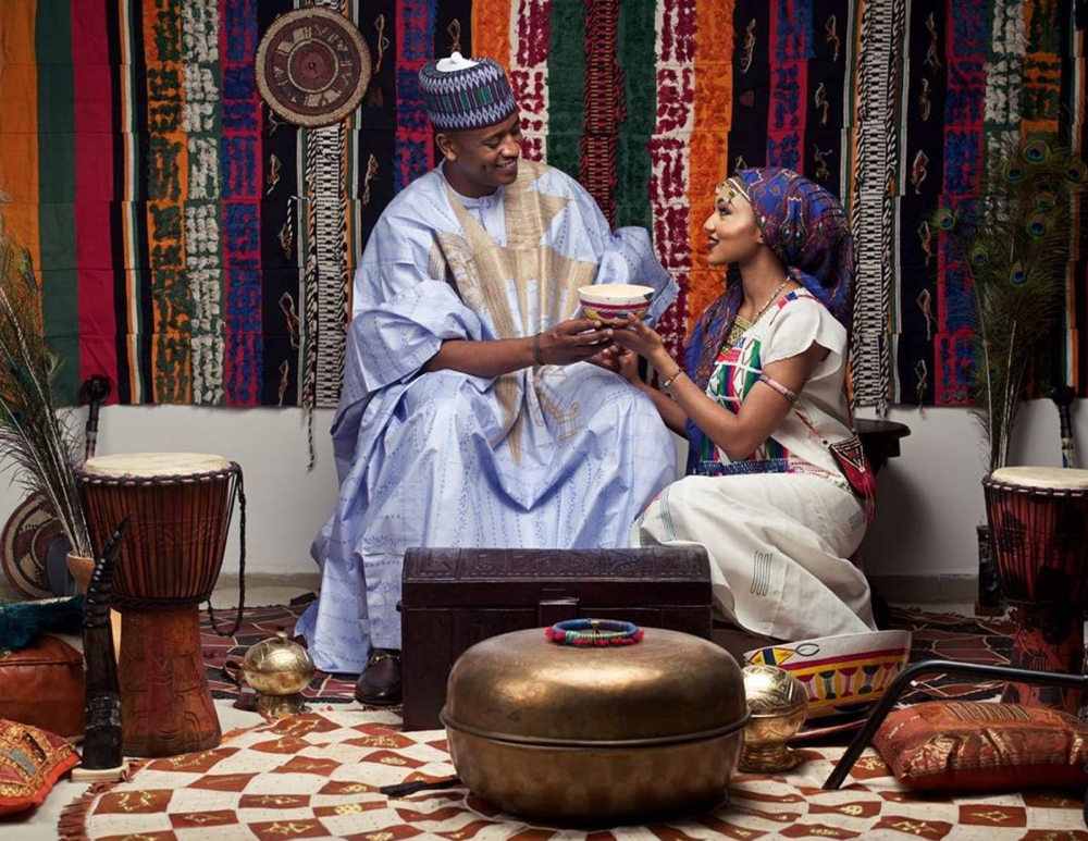 zahra buhari and husband