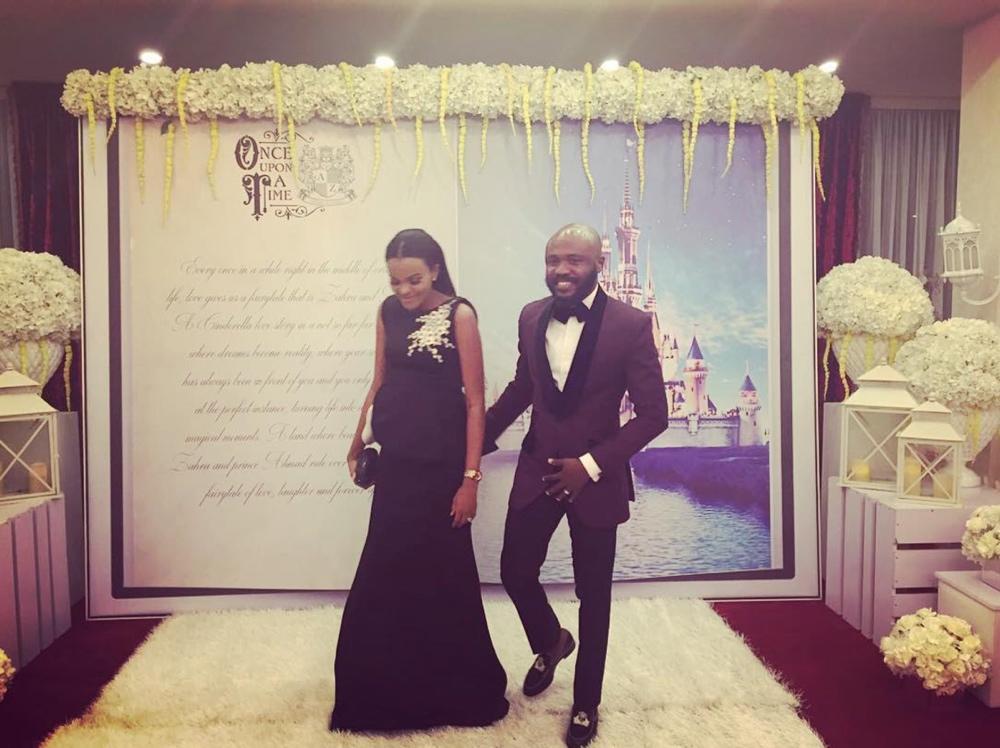 George and Rakiya Okoro