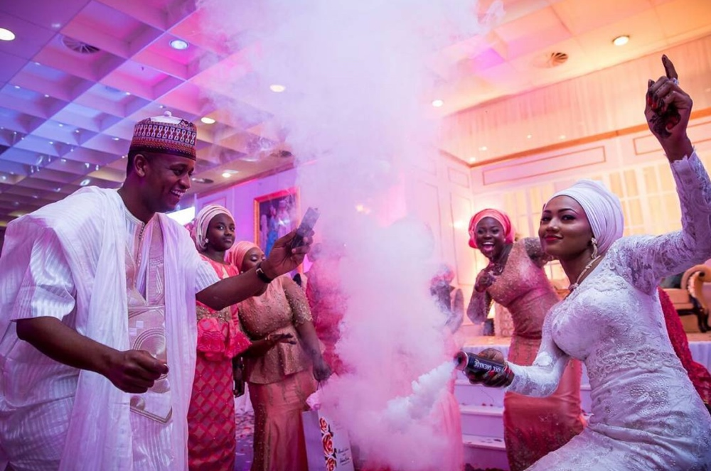 Image result for zahra buhari wedding pictures