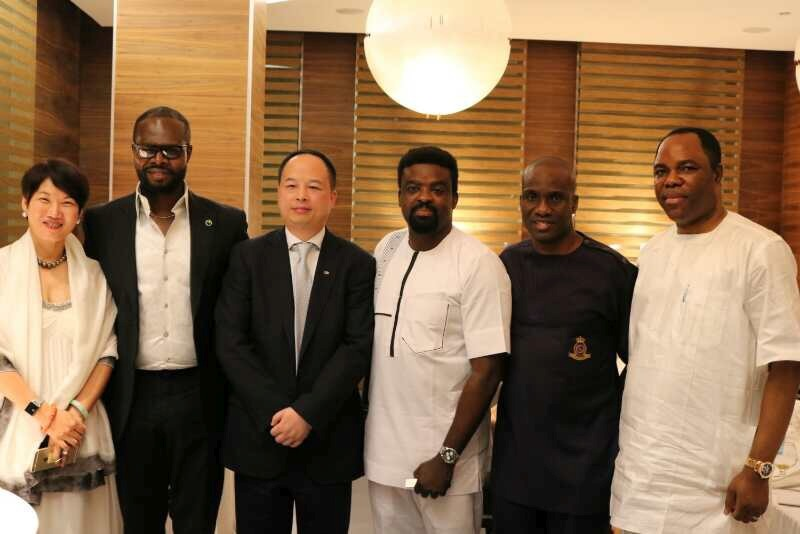 Chairman CIG Motors Diana Chen, Lead Consultant GAC Africa Linus Idahosa, General Manager GAC Group China Yu Jun, Kunle Afolayan, Publisher Daily Times Fidelis Anosike, Chairman NTel Dr. Tunde Ayeni