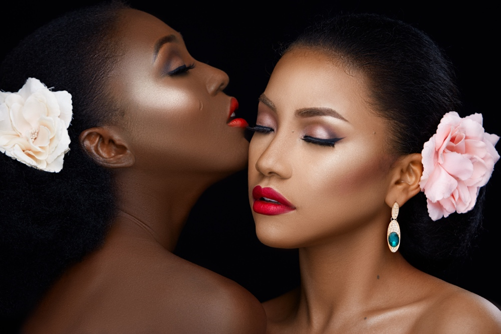 """""""The Adella Touch"""" A Beauty Photoshoot by Makeup Artist Adella and Eleanor Goodey Photography"""