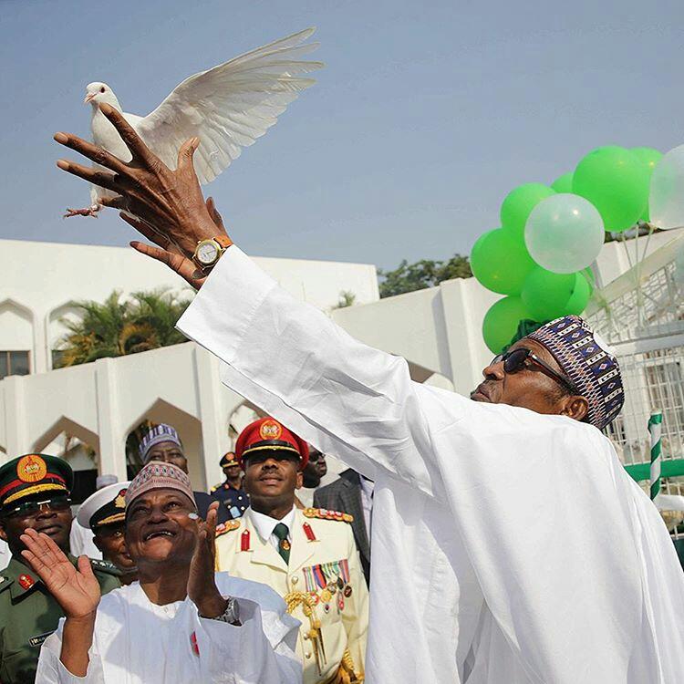 President Buhari at 74