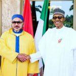 President Buhari & King Mohammed VI of Morocco