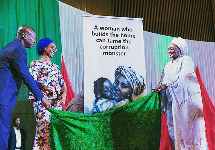 Aisha Buhari Nigerian Women Against Corruption