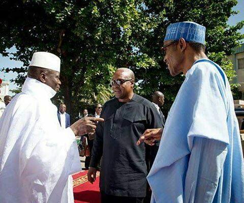 Buhari, Mahama, Sirleaf, Koroma visit Jammeh4