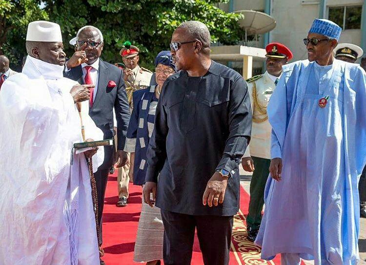 Buhari, Mahama, Sirleaf, Koroma visit Jammeh5