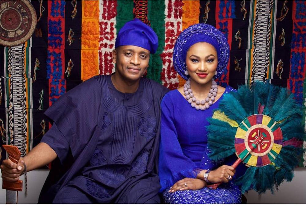 Photos of Zahra Buhari And Ahmed Indimi's wedding