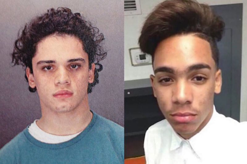 Mathew Borges mug shot and 16-year-old deceased Lee Manuel Viloria-Paulino
