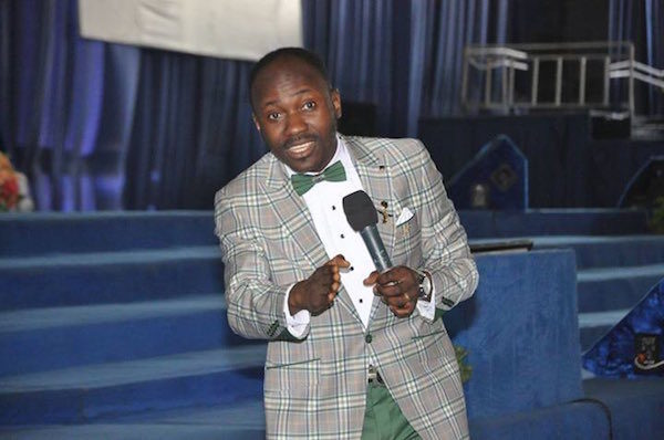 Here's the video of Apostle Suleman settling a Marriage Crisis that people are Talking About
