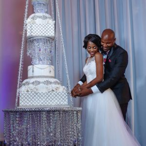 """The Chandelier Room Experience"" Glam Styled Wedding Shoot in Downtown Dallas by Touch of Jewel Events and Designs"