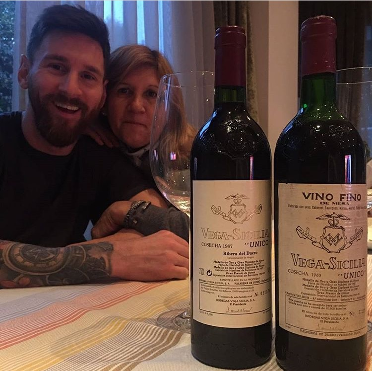 Lionel Messi Shares Photos of his Mother & himself as She Celebrates her 57th Birthday