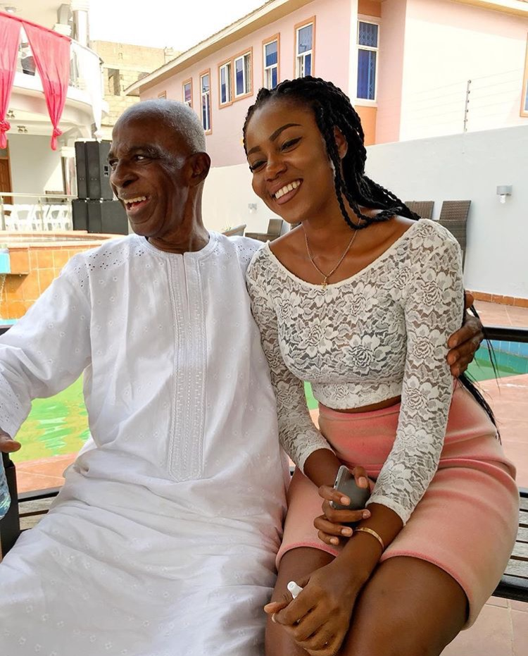 Image result for Yvonne Nelson Writes Late Dad, 'There's Still So Much I Want To Say To You'