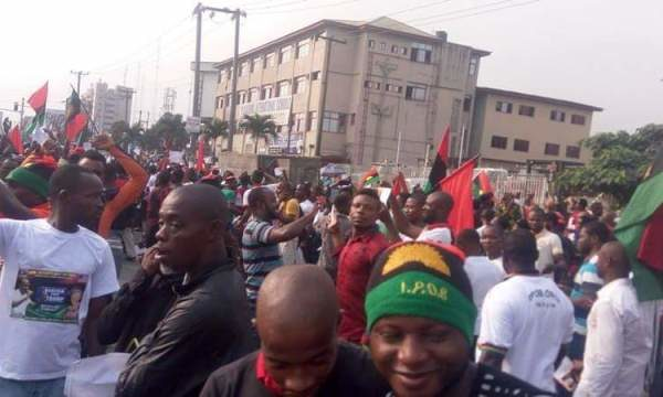 Nigeria @ 57: IPOB Members to wear Black - BellaNaija