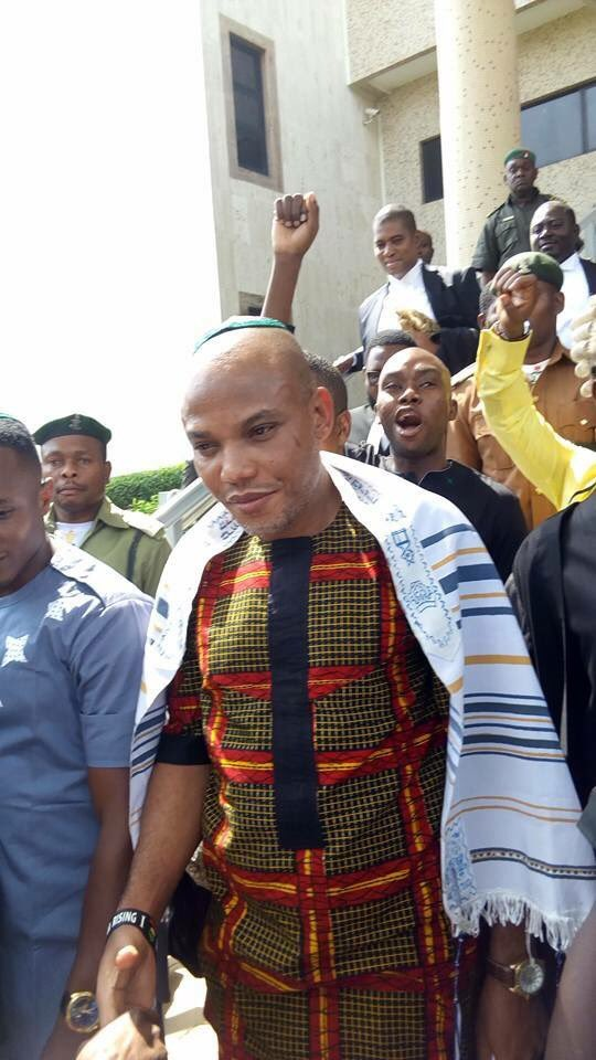 Igbo Traditional Ruler chases Nnamdi Kanu away from Palace for allegedly committing a Taboo