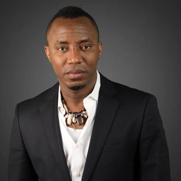 My bank accounts have been frozen by an Ilorin Court Order - Omoyele Sowore