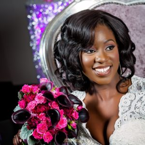 Lush Purple, Ivory & Crystal Styled Toronto Wedding Shoot by Royal Panache