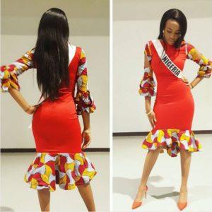 Nigeria's Rep Unoaku Anyadike & Other Miss Universe Beauty Queens pay a Courtesy Visit to Philippine President Rodrigo Duterte