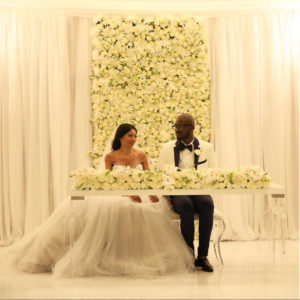 World Famous South African House DJ Black Coffee & Actress Enhle Mbali Mlotshwa have their White Wedding after 7 Years Traditionally Married with 2 Kids