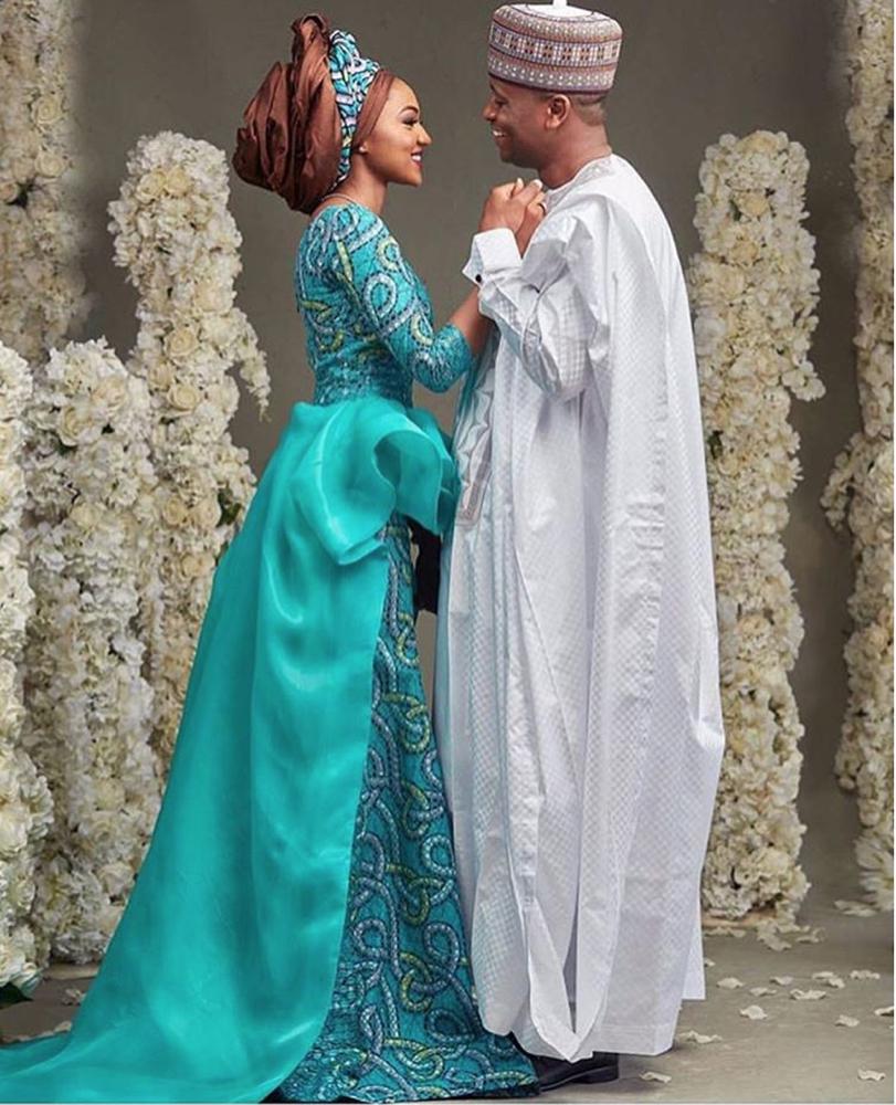 BellaNaija Weddings Presents Zahra Buhari And Ahmed Indimis Regal Wedding Zahmed2016