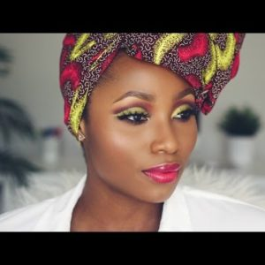 BN Beauty: Watch this Ankara inspired Makeup Look by Dimma Umeh
