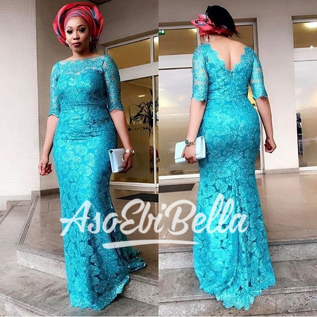 Latest Bella Naija Lace Dresses