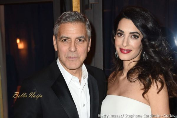 Amal & George Clooney donate $1m to fight Inequality - BellaNaija