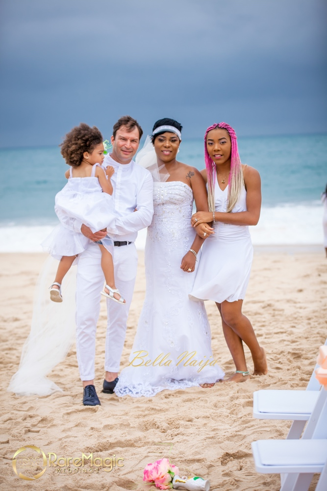 Italian Love Meets Nigerian Culture At Luca Irene S Elegant All White Beach Wedding Rare Magic Gallery Photography Bellanaija