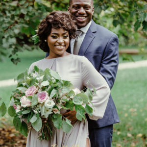 Love led Jacqueline & her Prince to their Happily Ever After! See their Pre-Wedding Photos + Fairytale Save the Date Video