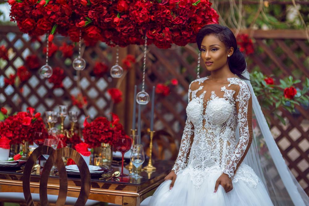 BN Bridal Beauty: Ghana's Contours By Valerie Lawson