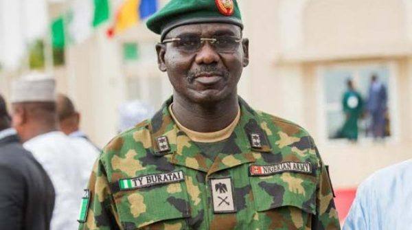 Nigerian Army has made giant strides in Security in the last one year - Army Chief Buratai | BellaNaija