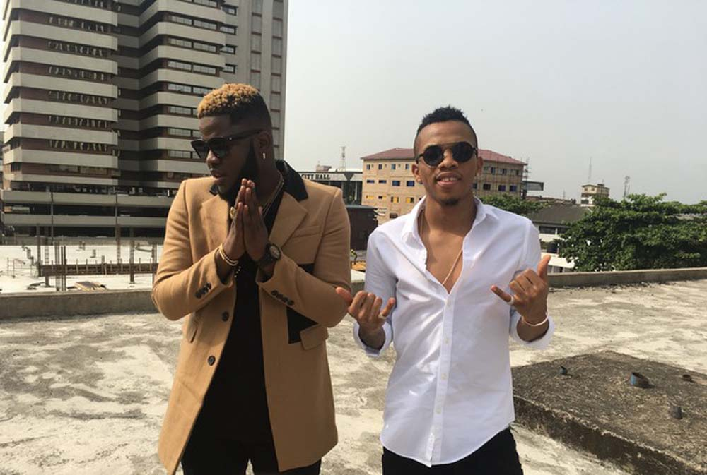 """Photos of Skales' new video with Tekno titled """"Give Me Love"""""""