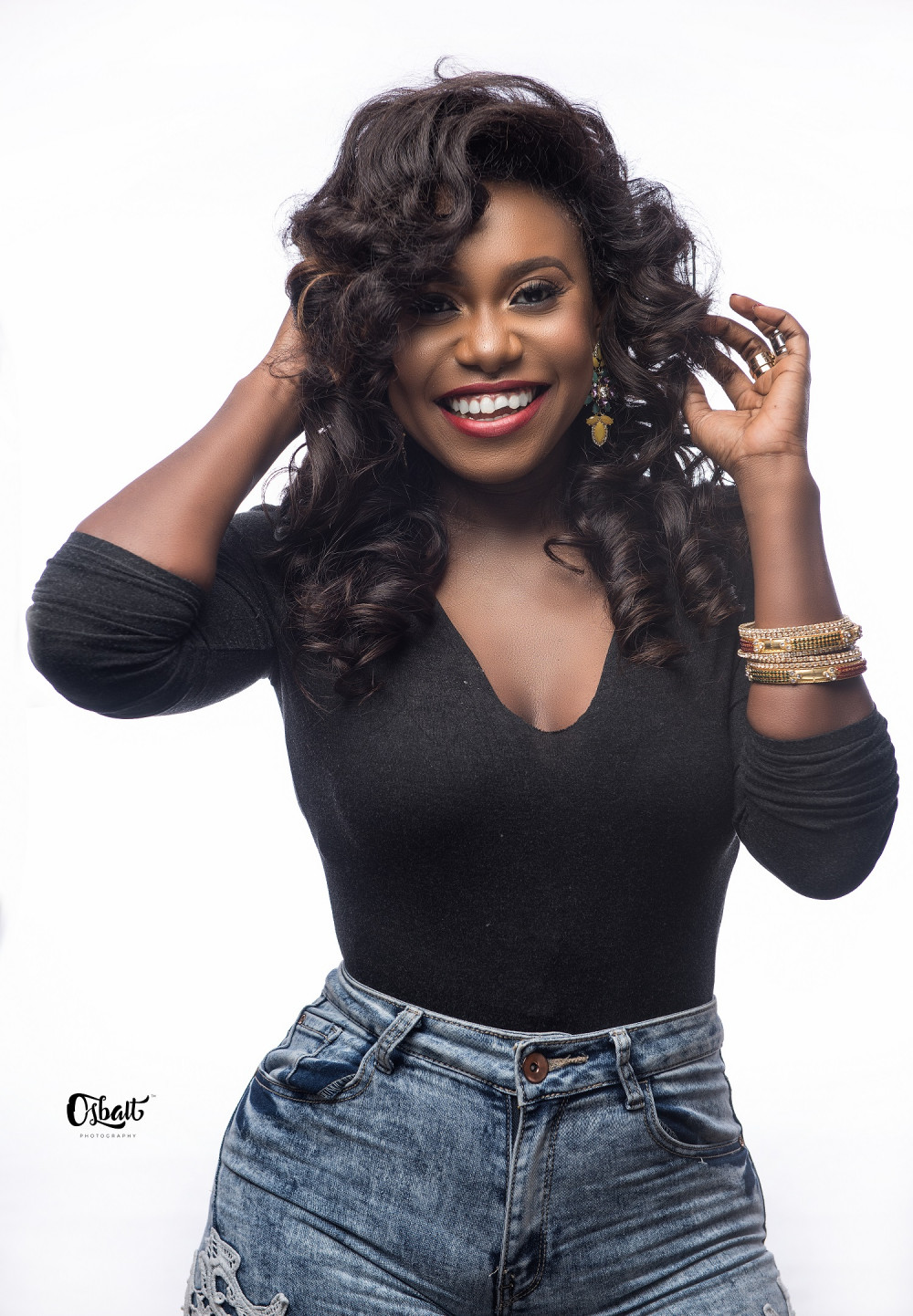 Photogist Black Is Beautiful Niniola on Meet Sultry Simone The Winner Of Best Behind In
