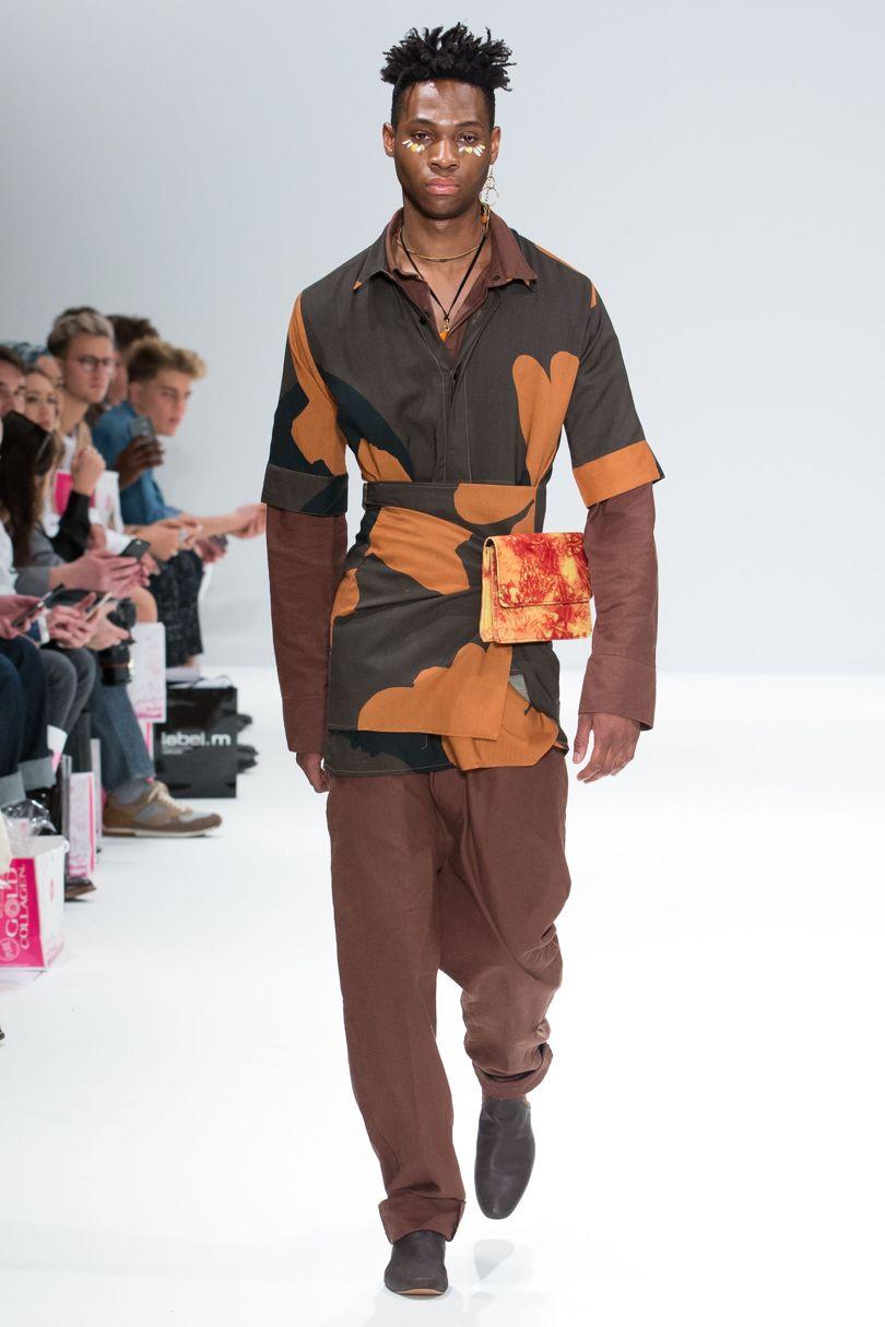 London Fashion Week Aw 2017 Orange Culture Bellanaija