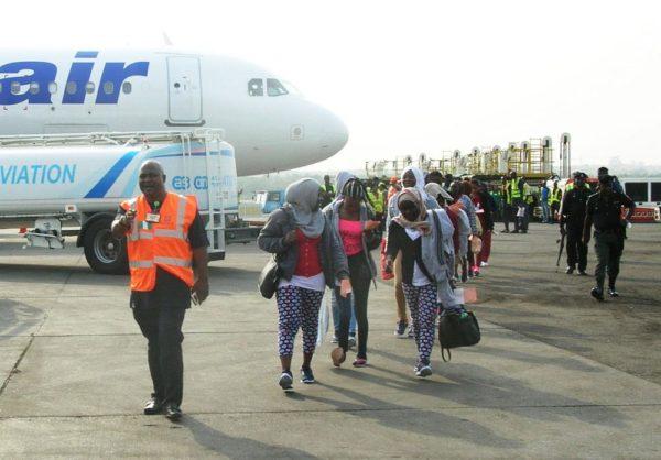 275 Migrants arrive Nigeria from Libya