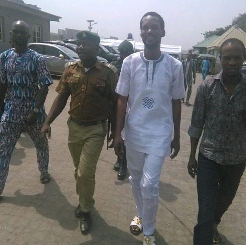 Seun Egbegbe appears in Court after 20 Months in Custody | BellaNaija