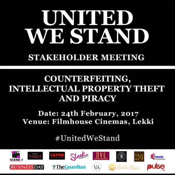 Tara Fela-Durotoye, Oke Maduewesi, Funke Akindele-Bello, Kemi Adetiba, Chude Jidenowo & other Influencers join hands to Raise Awareness against Counterfeiting in the #UnitedWeStand Campaign | Friday, February 24th
