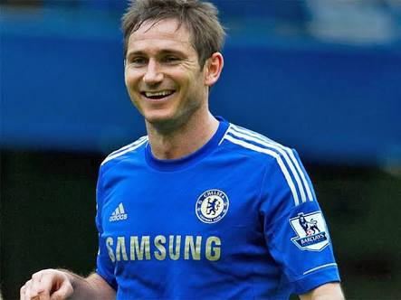 Former Chelsea FC and England Midfielder Frank Lampard takes a Bow