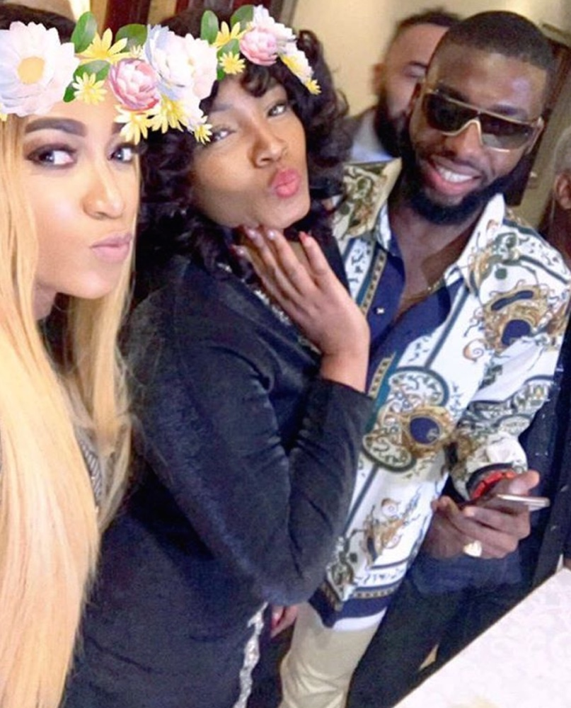 Omotola Jalade Ekeinde turns 39 in Style & Celebrates with Friends in South Africa!