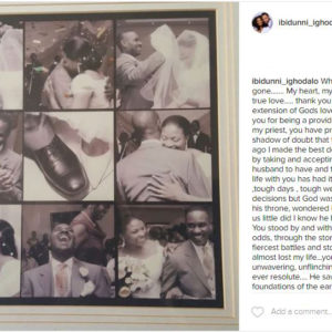 Pastor Ituah Ighodalo and his beautiful wife Ibidunni Ighodalo Celebrate their 10th Wedding Anniversary | Read her Tribute to him Here