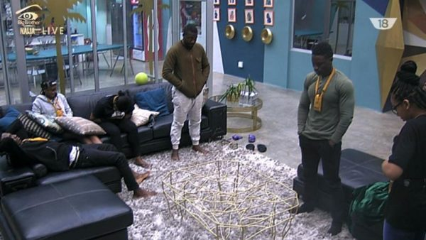 #BBNaija: Debie-Rise, TBoss, Bassey and Bally Nominated for Eviction   Who do You think will Leave on Sunday?