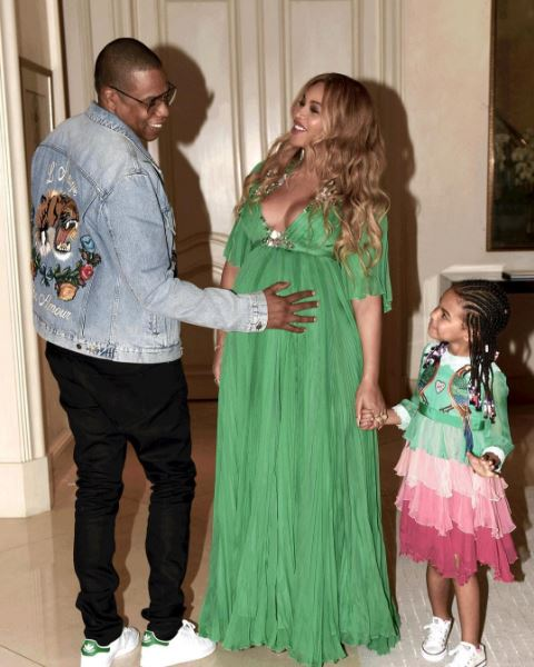 Beyoncé, Blue Ivy & Jay Z are too Cute in Coordinated ...