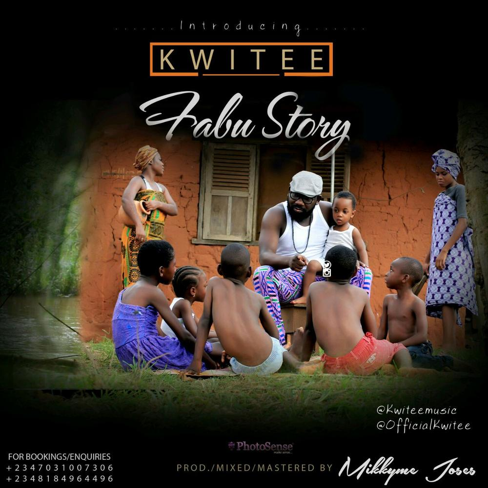 """Okwi Godwin Iguwe also known as Kwitee drops this track titled """"Fabu Story"""" which talks about stories we all grew up to meet as children."""