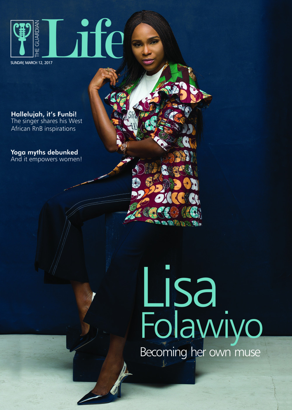 """Designer Lisa Folawiyo talks """"Becoming her own Muse"""" as she Covers Guardian Life Magazine"""