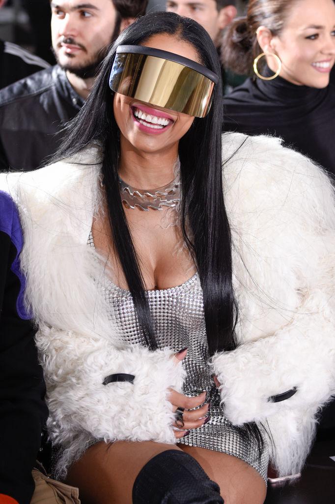 Nicky Minaj Fashion Week Paris