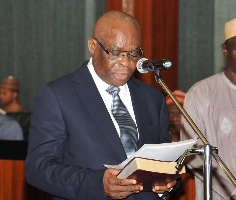 Chief Justice of Nigeria, Walter Onnoghen