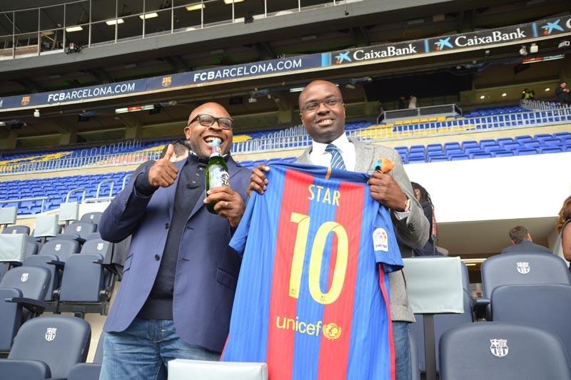 Star Lager partners FC Barcelona - Brand Spur