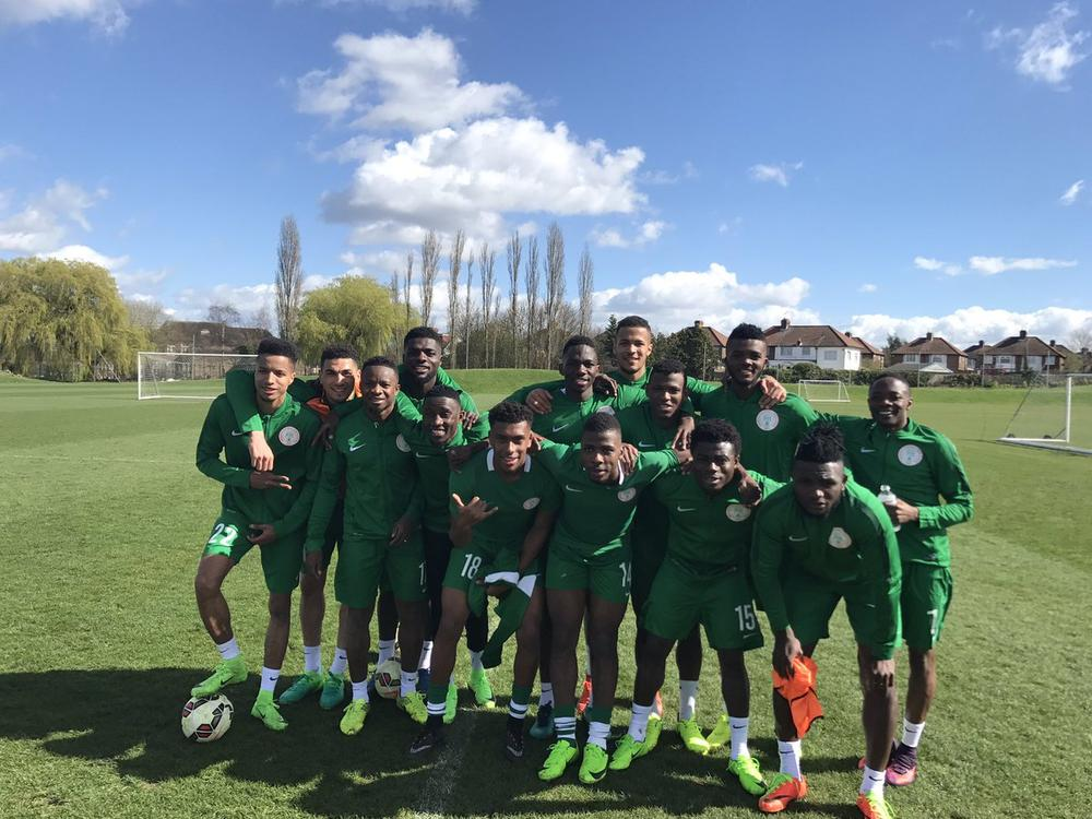 Image result for Super eagles team in london