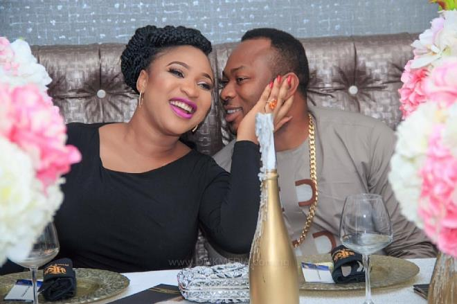 Image result for images of TONTO DIKEH AND CHURCHILL