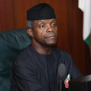 Osinbajo Joins He-For-She Campaign to Support Gender Equality