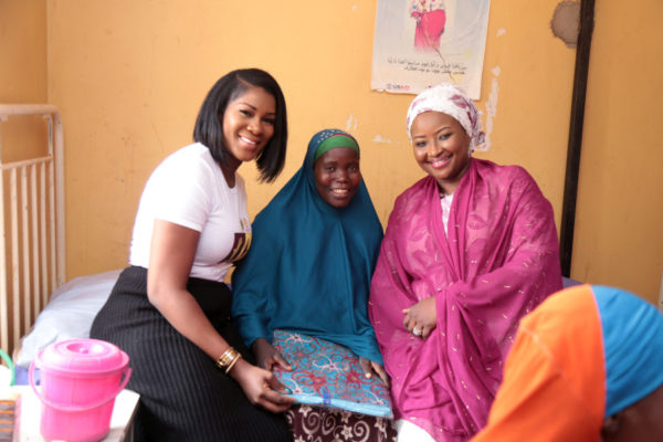 Stephanie Linus' Extended Hands Foundation helped 35 Women with VVF In Kebbi State